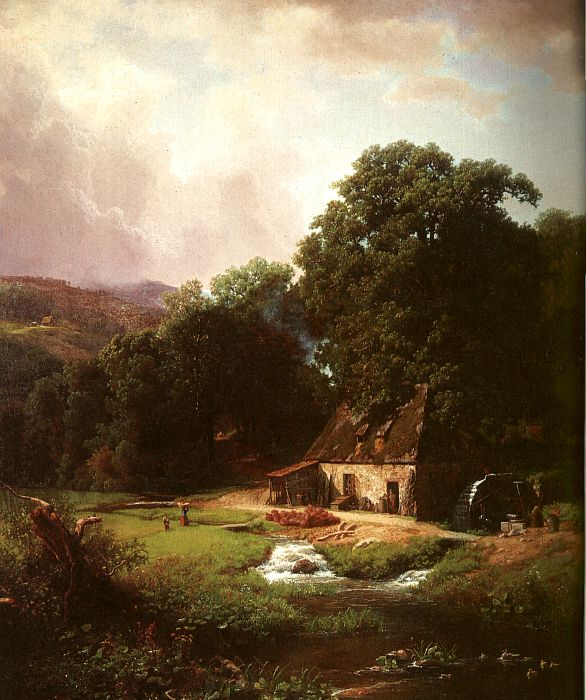 The Old Mill, 1855
