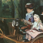 Woman and Child Driving, 1879-81