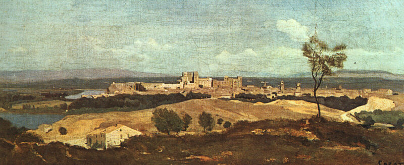 Avignon from the West, 1836