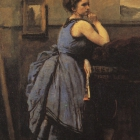 Woman in Blue, 1874