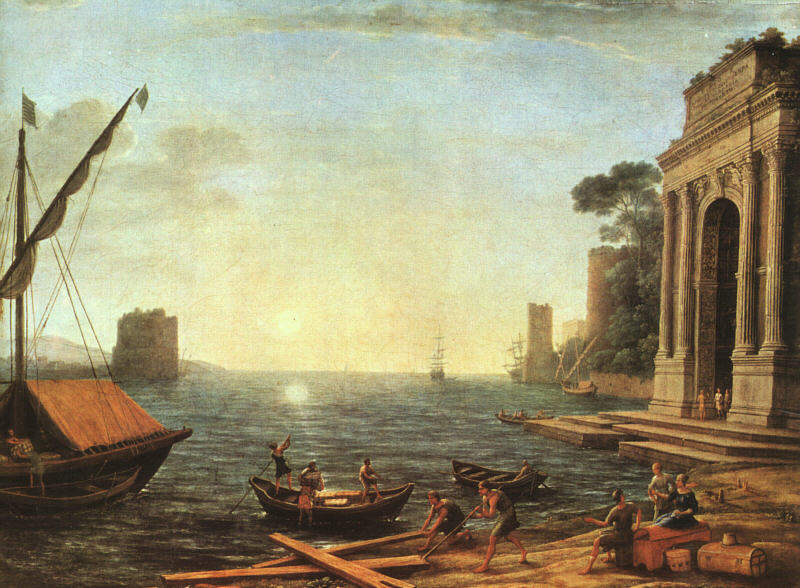 A Seaport, 1674