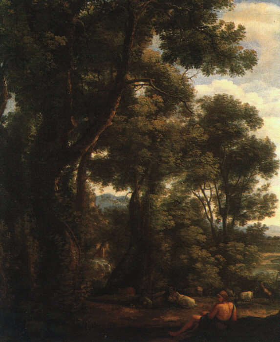 Landscape with Goatherd, 1636