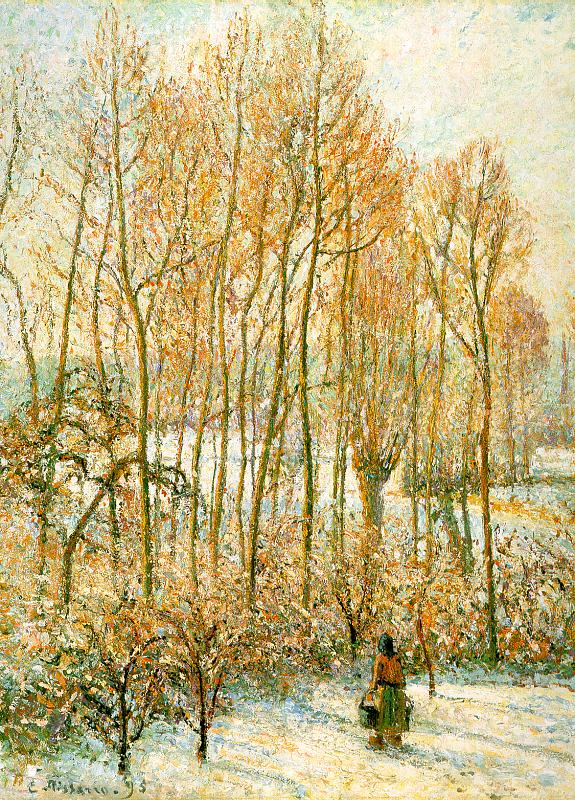 Morning Sunlight on the Snow, Eragny-Sur-Epte, 1895