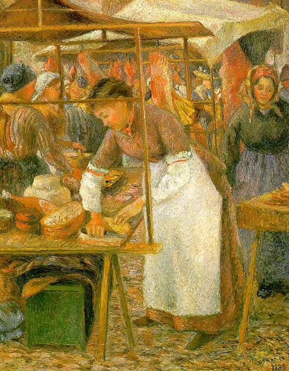 The Pork Butcher, 1883