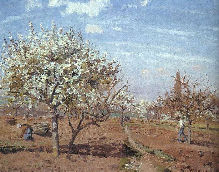 Orchard in Bloom at Louveciennes, 1872