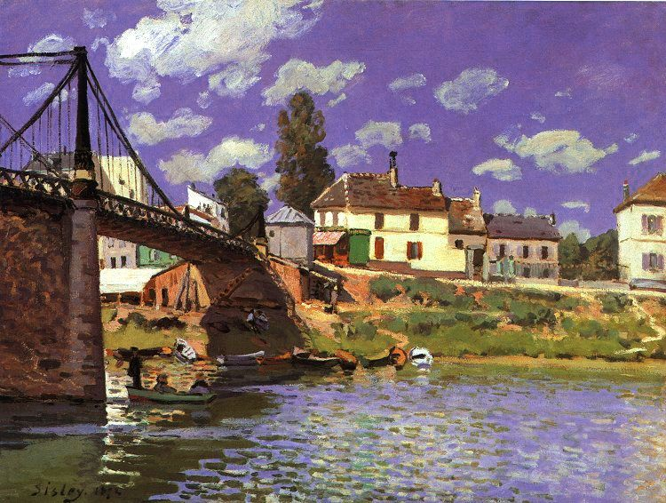 The Bridge at Villeneuve-la-Garenne, 1872