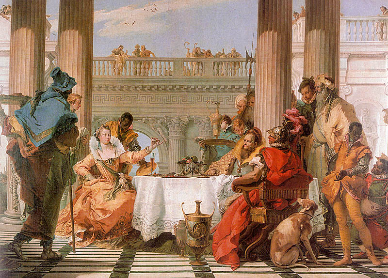 The Banquet of Cleopatra, 1743-44