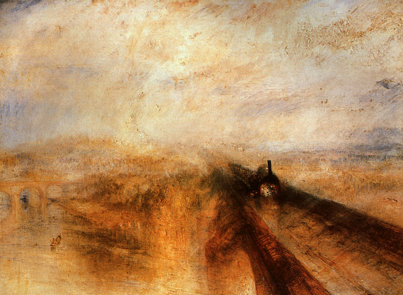 Rain, Steam and Speed - The Great Western Railway, 1844