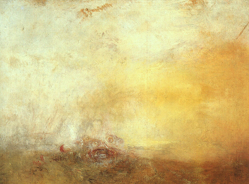 Sunrise with Sea Monsters, 1845