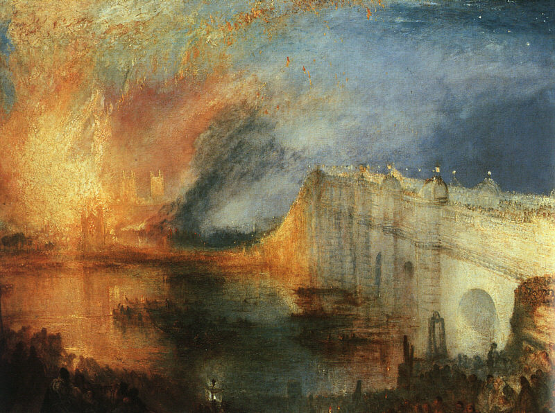 The Burning of the Houses of Parliament 2, 1834
