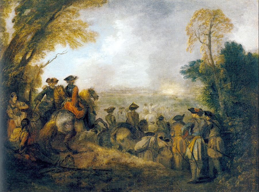 On the March, 1710