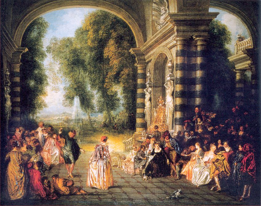 The Pleasures of the Ball, 1717